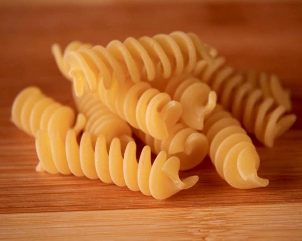 Fusilli pasta