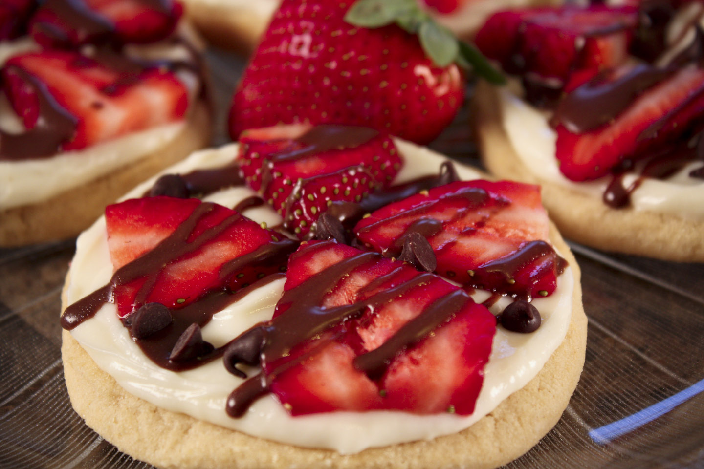 Sugar Cookie Pizzas Recipe Dishmaps