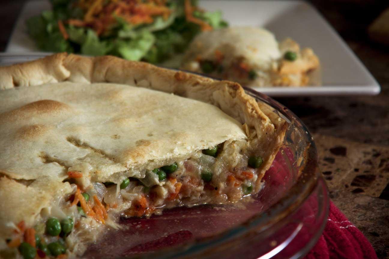 Impossibly Easy Chicken Pot Pie Recipe — Dishmaps
