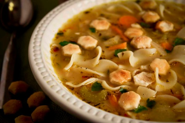 Chicken Noodle Soup Bowl