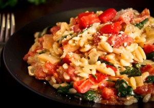 Three Cheese Orzo
