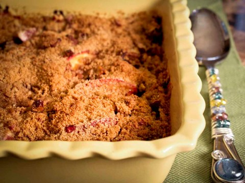 Blueberry & Peach Crisp