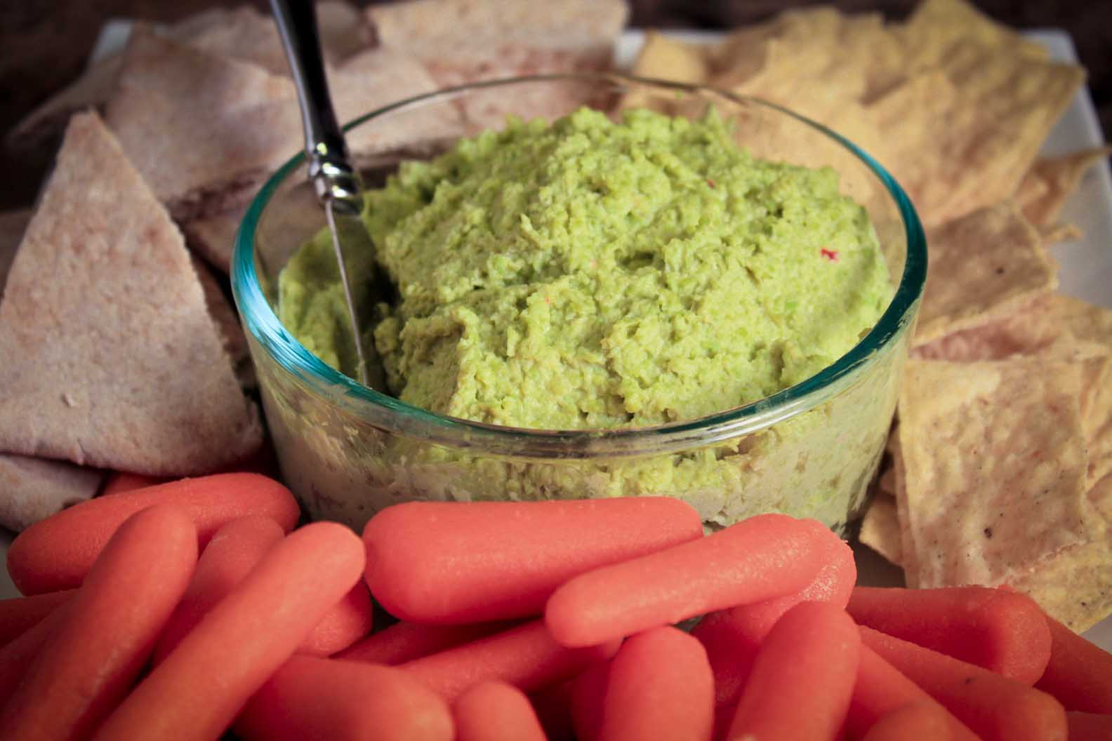 Edamame Hummus Dip | Enjoy Life, It's Delicious