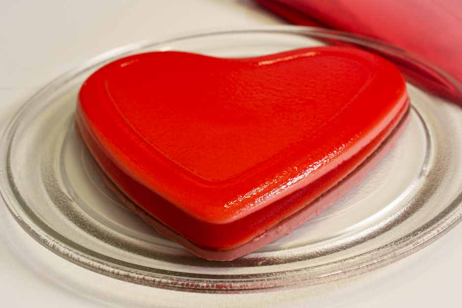 ... tasted one of my layered jell o hearts how to make layered jell o