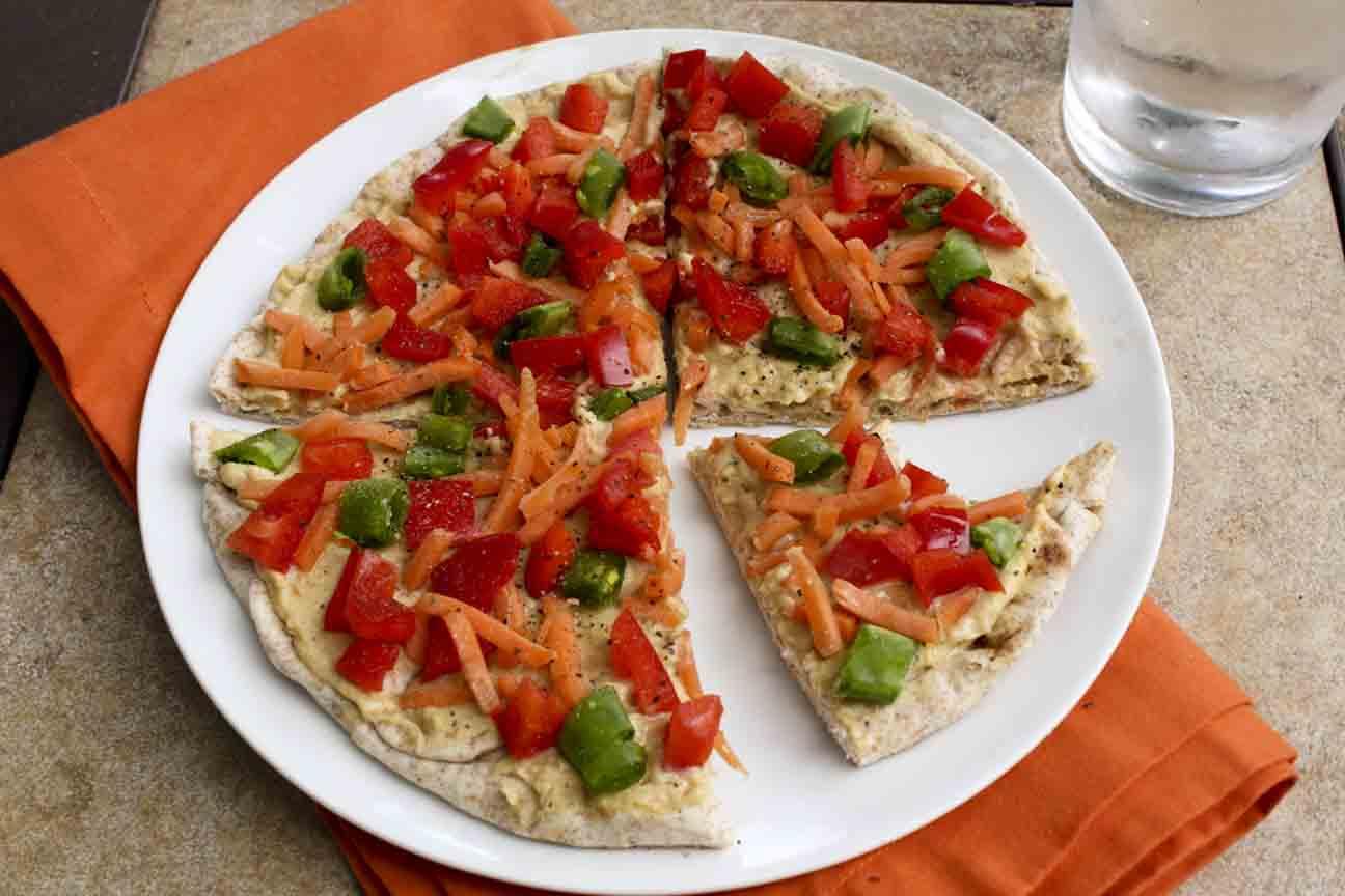 Hummus Pizza | Enjoy Life, It's Delicious