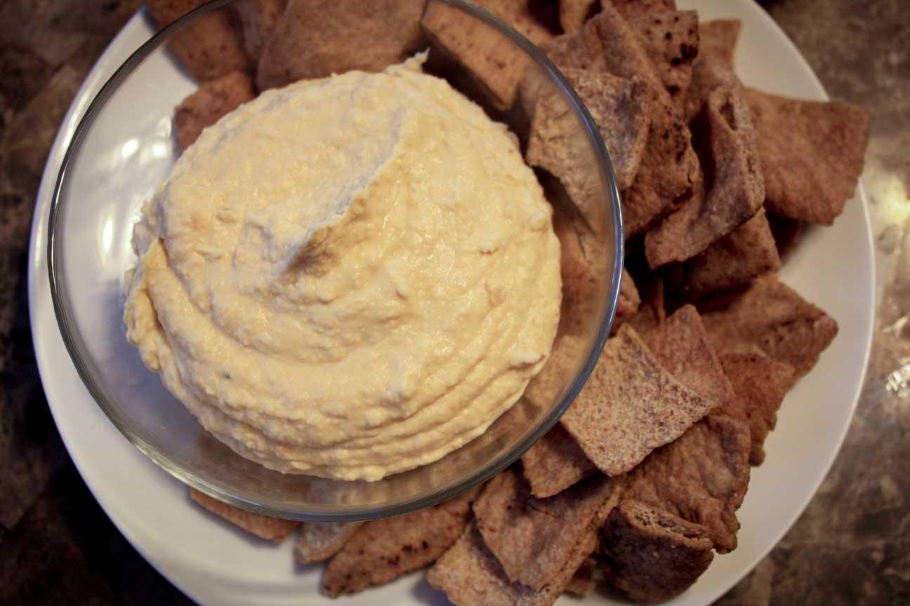 Roasted Garlic Hummus | Enjoy Life, It's Delicious