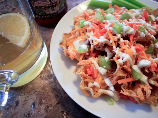 Superbowl nachos