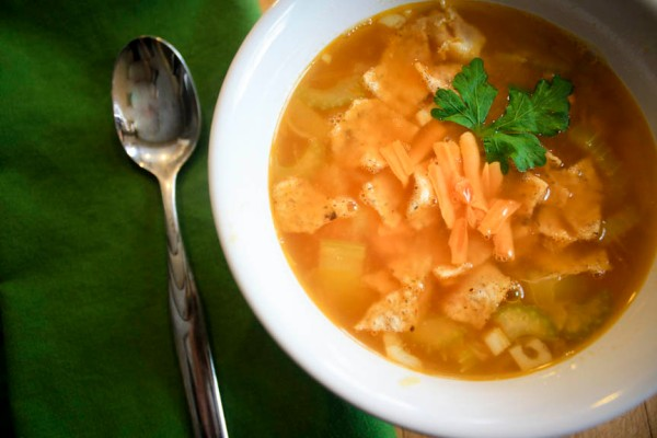 buff chicken soup