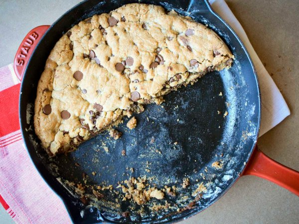 chocolate chip skillet